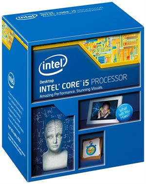 Intel i5-4460 3.2GHz (3.4GHz Turbo) 4 Cores 6MB Cache LGA1150 CPU  *Intel Promotion*