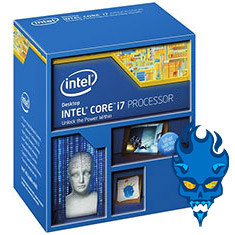 Picture of Intel Core i7-4790K Unlocked Quad-Core, 4.0GHz (4.4GHz Turbo), 8MB Cache, LGA 1150 CPU