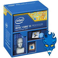 Picture of Intel Core i5-4690K Unlocked Quad-Core, 3.50GHz (3.9GHz Turbo), 6MB Cache, LGA1150 CPU
