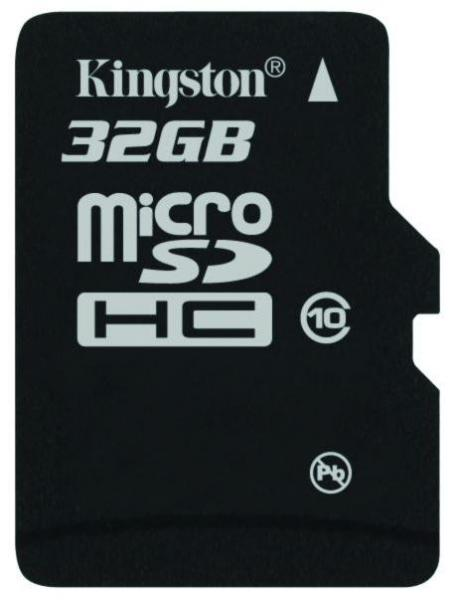 32GB Kingston Micro SD Class 10 Card