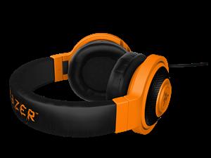 Picture of Razer Kraken Neon Headphones Orange 1.3M Cable Length