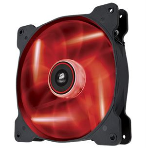 Corsair 140mm Air Series Quiet Edition Case Fan Red LED