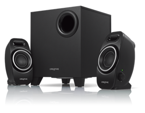 Creative SBS A250 2.1 Compact Speaker System IFP - Black