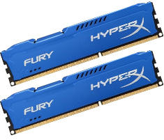 Kingston Hyper X Fury 1866MHz (2X4GB) Blue DDR3 RAM