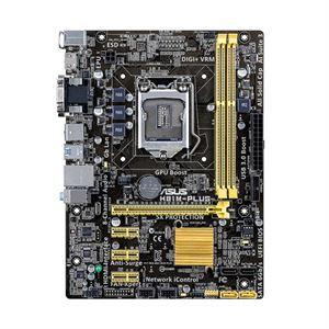 Asus H81M-Plus Socket LGA 1150 USB 3.0 mATX Motherboard
