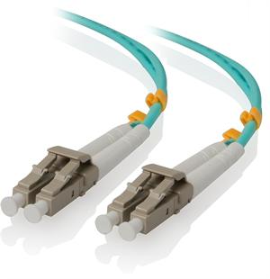 Alogic 2 Meter LC-LC 10G Multi Mode Duplex LSZH Fibre Cable 50/125