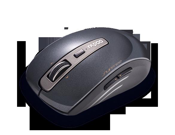 Rapoo 3290P 5G Anti-Interference Wireless Transmisson Laser Mouse Black