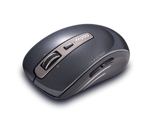 Rapoo 3920P 5G Anti-Interference Wireless Transmisson Laser Mouse Black