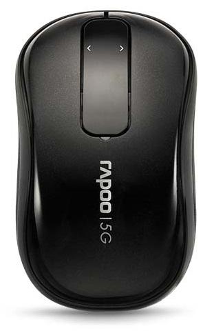 Rapoo T120P 5G Anti-Interference Wireless Transmission Mouse - Black