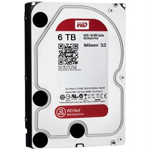 "Western Digital 6TB Red 3.5"" Internal Hard Drive WD60EFRX"