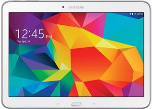"Samsung Galaxy Tab 4 10.1"" - Quad-Core 1.2GHz, 4G LTE, 1.5GB RAM, 16GB Storage, Wi-Fi, Android 4.4, White"