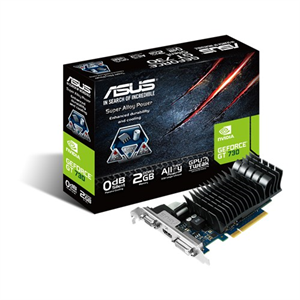 Asus GeForce GT 730 2GB GDDR3 Graphics Card