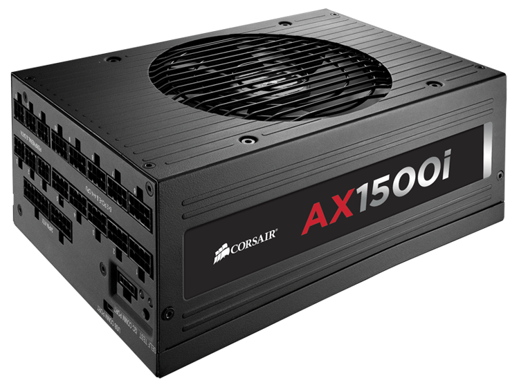 Corsair AX1500i 1500 Watt ATX Power Supply 80+ Titanium Rating