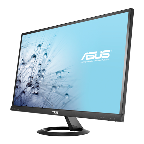 "27"" Asus IPS Monitor 16:9 1920x1080 5MS 80M:1 VGA/2HDMI SPK Frameless"