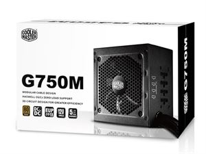 Picture of Cooler Master GM750 750 Watt 80+ Bronze 120mm Fan Modular Power Supply