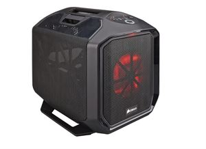 Picture of Corsair 380T Black Mini-ITX Gaming Case - Perfect for LAN Gaming