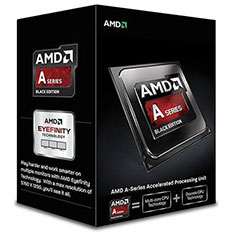 AMD A8-7600 Quad-Core, Max Freq 3.8GHz, 4MB Cache Socket FM2+ With Integrated Radeon™ R7 Series Graphics