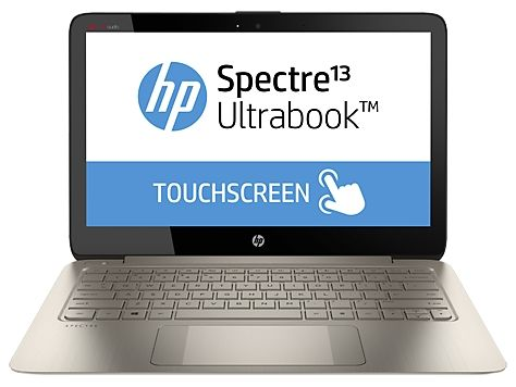 "HP Spectre 13-3014TU 13.3"" Touch Ultrabook - i5 4200U, 4GB RAM, 128GB SSD, Win8.1, 1 Year Warranty"