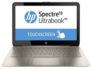 "Picture of HP Spectre 13-3014TU 13.3"" Touch Ultrabook - i5 4200U, 4GB RAM, 128GB SSD, Win8.1, 1 Year Warranty"