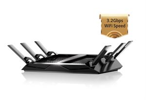 Netgear R8000 NightHawk X6 AC3200 Tri-Band World's Fastest Wi-Fi Router !