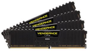 Picture of Corsair 16GB DDR4 2800MHz Vengeance Low ProfileX DIMM Black (4X4GB)