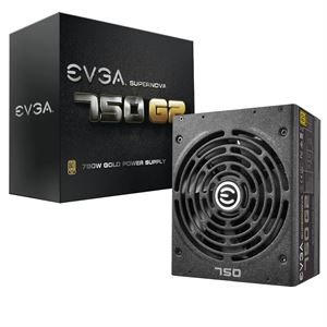 Picture of eVGA 750 Watt Supernova G2 Fully Modular 80+ Gold Rated Power Supply