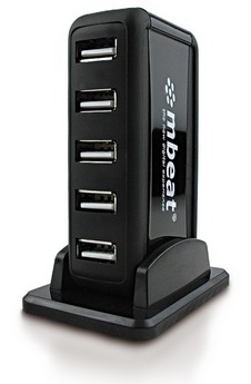 MBeat 7 Port Powered USB Hub