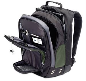 "Targus HP 17"" Green Backpack"