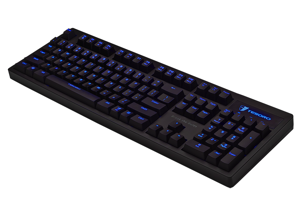 Tesoro Excalibur TS-G7NL Mechanical Gaming Keyboard -Blue Switches