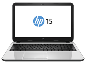 "HP 15-R002TU 15.6"" HD Display - Intel Core i5 4210U, 4GB RAM, 500GB HDD, DVDRW, Windows 8.1, Pearl White"