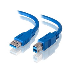 Alogic 3m USB 3.0 Cable - Type A Male to Type B Male