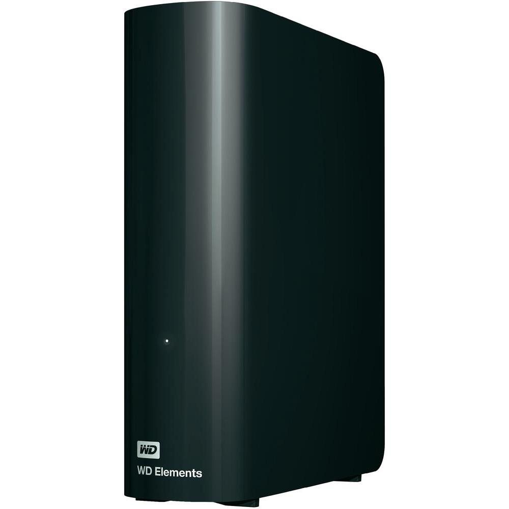 "2TB Western Digital Elements Desktop 3.5"" External Hard Drive USB 3.0 - Black"