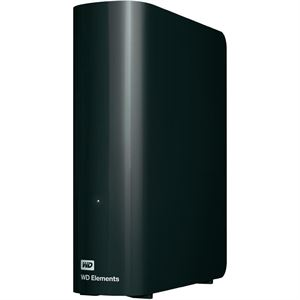 "Picture of 2TB Western Digital Elements Desktop 3.5"" External Hard Drive USB 3.0 - Black"