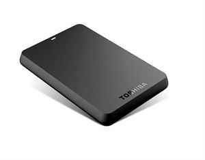 "1TB Toshiba Canvio External Hard Drive 2.5"" USB 3.0"