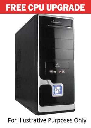 Centre Com System Budget i3 Limited Edition - Intel Core i3-4350(3.6GHz) - 4GB RAM - 1TB HDD - DVDRW - No Operating System