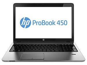 "HP ProBook 450 G1 15.6"" HD - Intel Core i5 4200M, 8GB RAM, 750GB HDD, DVDRW, Windows 7 Pro + Windows 8 Pro Licence"