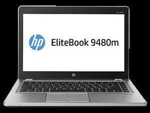 "HP EliteBook Folio 9480M 14"" HD - Intel Core i5 4210U, 4GB RAM, 32GB Flash + 500GB HDD, Windows 7 Pro + Windows 8 Pro"