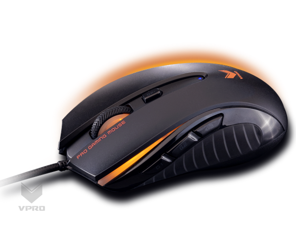 Rapoo V300 Optical Gaming Mouse Up To 4000 DPi