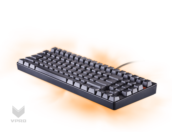 Rapoo V500 Mechanical Gaming Keyboard - Yellow Switches