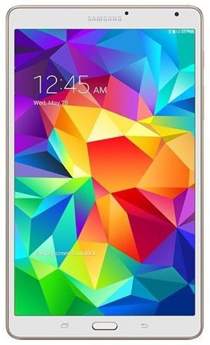 "Picture of Samsung Galaxy Tab S 8.4"" - Octa-Core CPU, 16GB Storage, Wi-Fi, 4G LTE, Android, White, 2 Year Warranty"