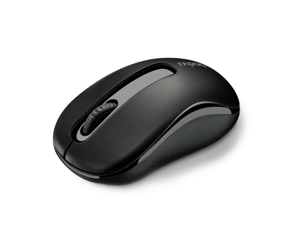 Rapoo M10 2.4GHz Wireless Optical 3 Key Mouse - Black