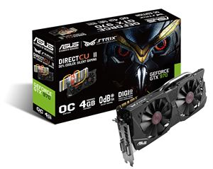 Asus GeForce GTX 970 Strix 4GB GDDR5 Graphics Card
