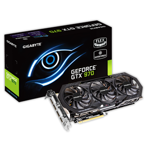 Gigabyte GeForce GTX 970 Overclocked 4GB GDDR5 Graphics Card