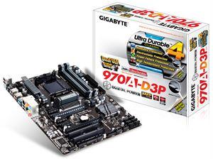 Gigabyte GA-970A-D3P AM3+ ATX Motherboard