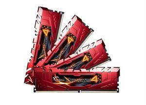 G.Skill Ripjaws4 16GB (4x4GB) 2400MHz DDR4 Quad-Channel Red F4-2400C15Q-16GRR