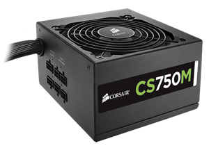 Corsair CS750M Semi-Modular 80+ Gold Power Supply