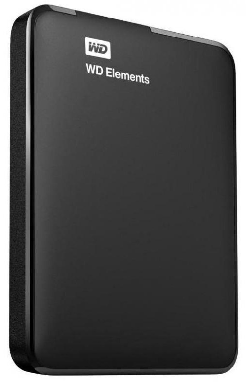 "750GB Western Digital Elements 2.5"" USB 3.0 Portable Hard Drive"