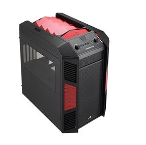 Picture of Aerocool XPredator Cube Mini Case - Red