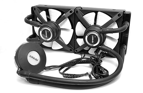 Antec Kuhler H2O 1250 - 3x Large Pumps, Maximum Performance Liquid CPU Cooler