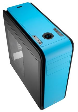 Picture of Aerocool DS 200 Blue/Black Edition Mid-Tower Case With Window